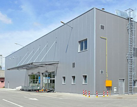 Logistical and warehouse buildings